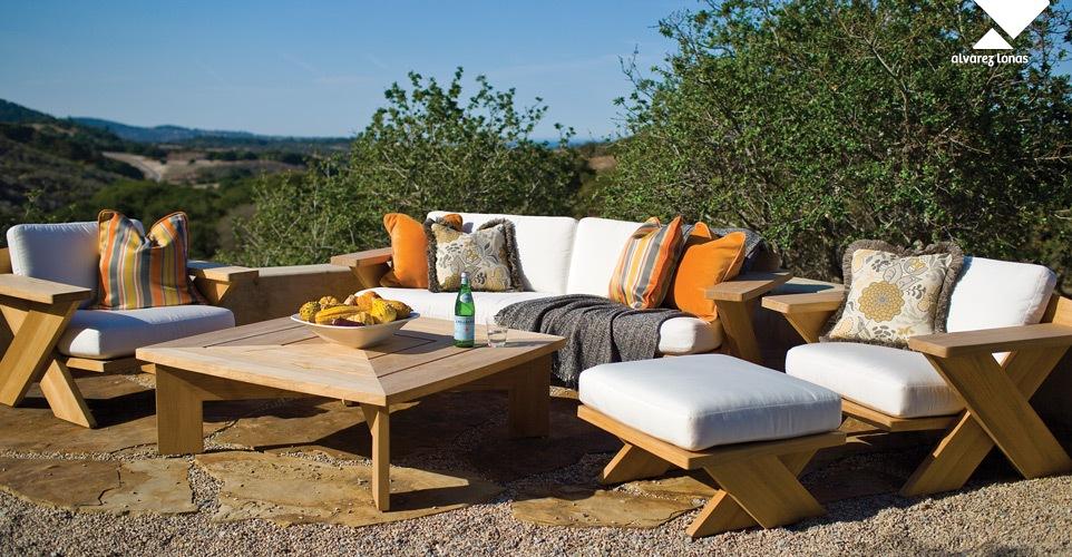 Tejidos outdoor para sillones y almohadones de jard n Almohadones exterior