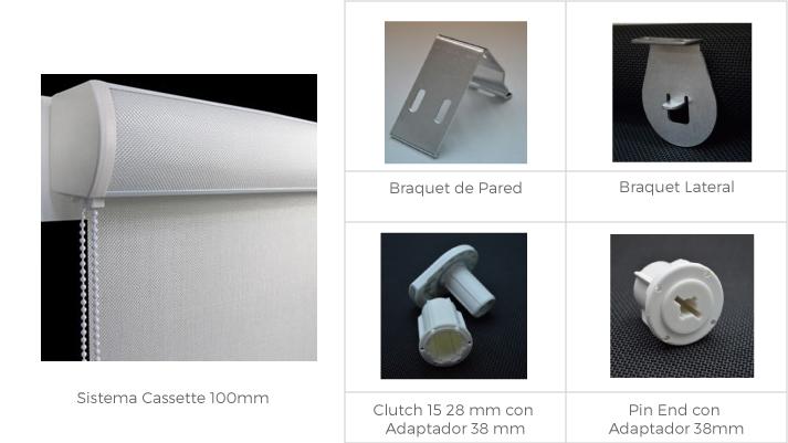 Accesorios para cortinas enrollables - Accesorios para cortinas ...